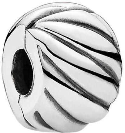 be46d0fde Pandora Women's 925 Sterling Silver Feathered Clip Charm - 791752 | KSA |  Souq