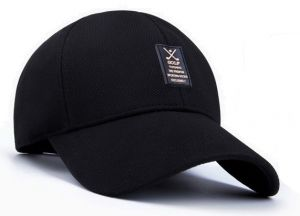 c637ff58da6 Summer Man Leisure cap Outdoor Baseball Caps Adjustable Hat Black