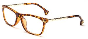 0ee15af2a1e High-end Women Retro Bamboo Metal Leg Optical Glasses Full Frame And  Goggles 2198-2