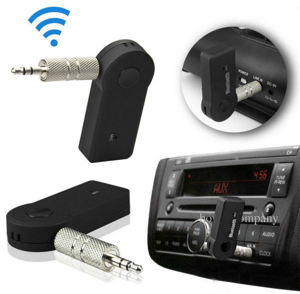 Car Bluetooth Aux Receiver Cable Adapter For Vw Rcd210: Wireless Car Bluetooth Receiver Adapter 3.5MM AUX Audio