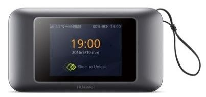 Huawei 4G Portable Router , CAT 6 , Black , E5787
