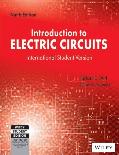 introduction to electric circuits ninth edition by richard c dorf