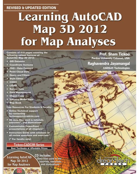 Souq | Learning AutoCAD Map 3D 2012 for Map Analyses by Prof. Sham ...