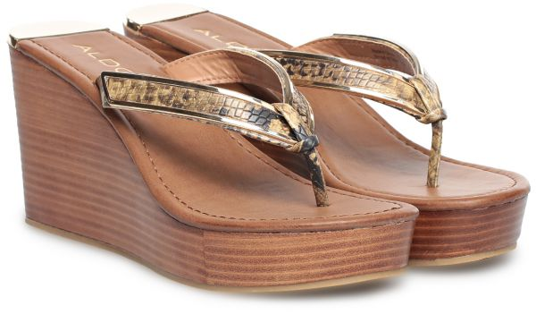 64be50c502 Aldo White Wedge Sandal For Women | Souq - UAE