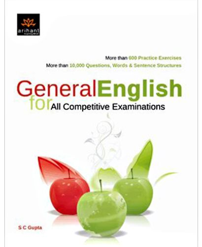 Competitive Exams English Book
