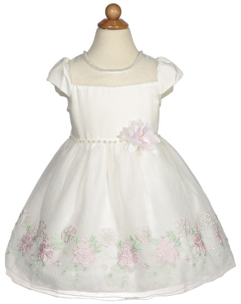 Cuts Fits White Mixed Special Occasion Dress For Girls Souq Uae