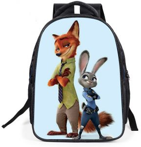Zootopia 3D Print Backpack Kids Children Cute School Bag Boys Girls  Students Cartoon Backpacks 9f478a51e7f87