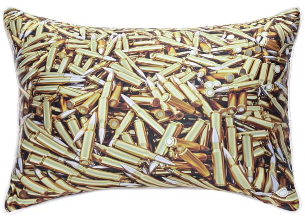 Rebel Living GBaby Bullet Graphic Decorative Pillow Bronze 40 X Mesmerizing Bronze Decorative Pillows