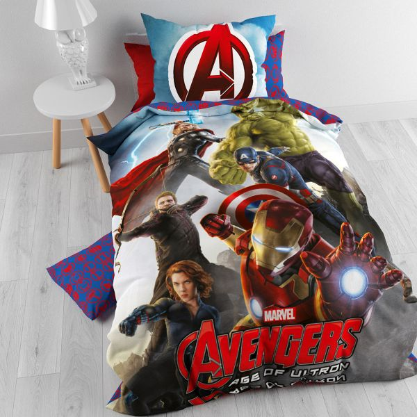 iron man single bed cover