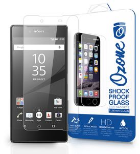 Ozone Sony Xperia Z5 Premium 0.26mm Shock Proof Tempered Glass Screen Protector