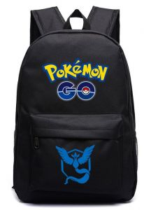 fe9febbbb2 Pokemon Go Team Mystic Logo Blue Backpack Shoulders Bag Laptop Bag SchoolBag