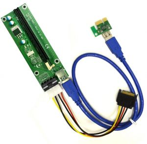 Buy mining graphics card pci e to pcie extender riser card