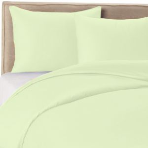 bcb93e5f7f1a IBed Home Solid Bedsheets 3 Pieces Bedding Set - King size - light pastel  green
