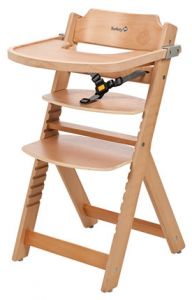 855e410d9cd Safety 1st 27620100 Timba with Tray Included High Chair Natural Wood