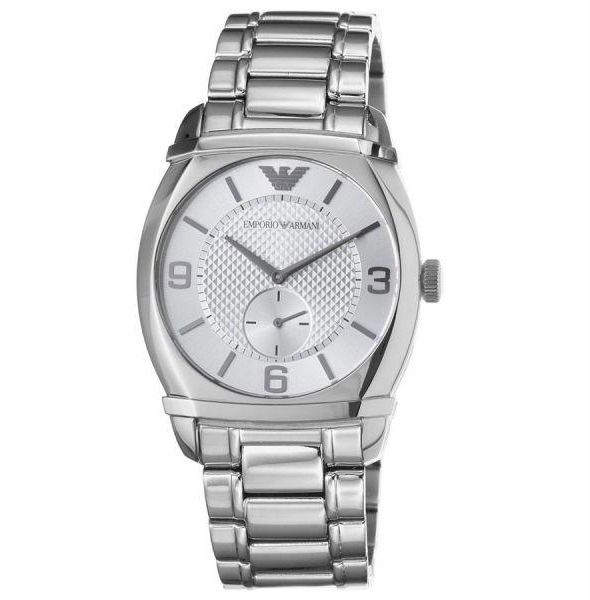 Emporio Armani Men's Analog Stainless Steel Band Watch - AR0339