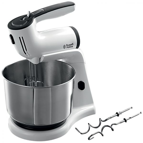 souq russell hobbs aura stand mixer 21200 silver uae. Black Bedroom Furniture Sets. Home Design Ideas