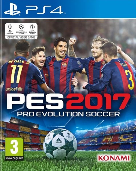 e7feef8e90ab Pro Evolution Soccer PES 2017 for PlayStation 4