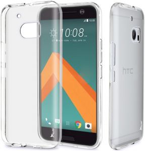Slim Transparent Ultra-Thin TPU Protective Case Cover for HTC M10 - Clear