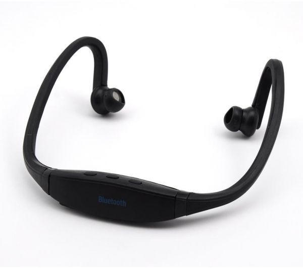 Black Bluetooth Handsfree Headset for Sports Running Hiking Jogging Iphone  Samsung Nexus LG Nokia  e429788bb8129