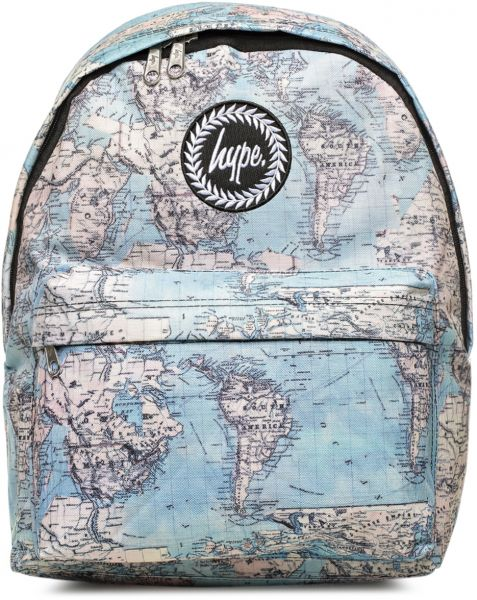 9f81491f24 Hype HS15VMB1 Vintage Maps Fashion Backpack - Unisex