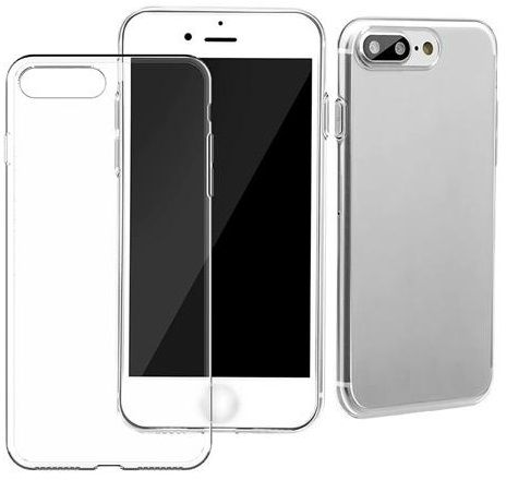 slim transparent ultra thin tpu protective case cover for apple iphone 7 plus clear