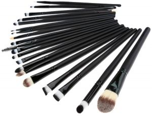 9b55cf5557 20pcs Pro Makeup Brushes Set Powder Foundation Eyeliner Eyeshadow Lip Brush  Comestic