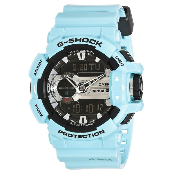 the best attitude 9d7b1 330cd Casio G-Shock Men's Ana-Digi Dial Bluetooth Watch - GBA-400-2C