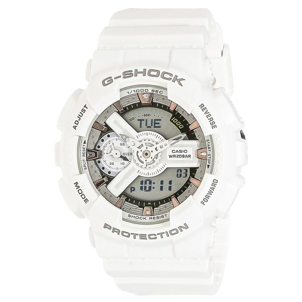 800995d552b Casio G-Shock Men s White Dial Resin Band Watch - GMA-S110CM-7A2DR ...
