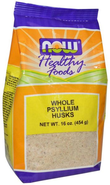Now Whole Psyllium Husks 454 Gm Powder Souq Uae
