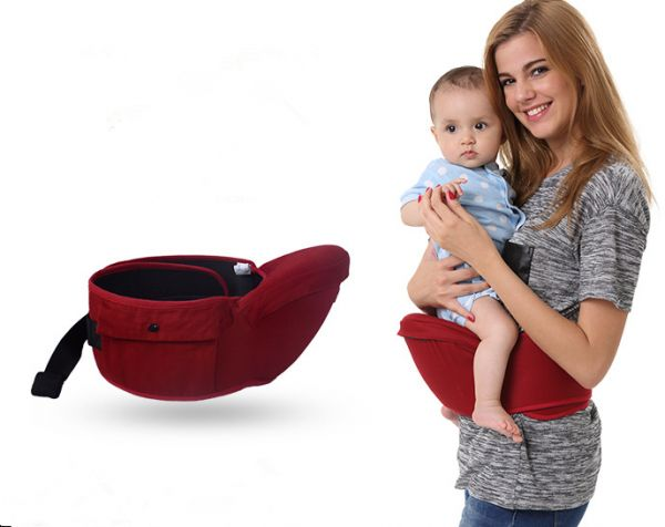 d63d7325ce2 Baby Carrier Waist Stool Baby Sling Hold Waist Belt Backpack Kids Infant Hip  Seat