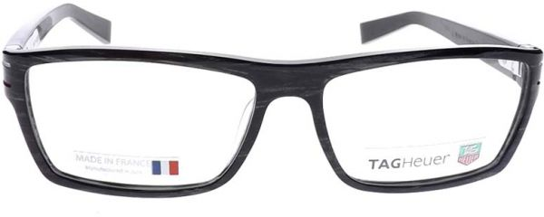 Buy Tag Heuer Th 0531 Col. 003 Grey Striped Black Optical Frame ...