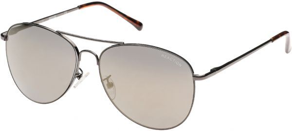 5e963cbadd Kenneth Cole Reaction Aviator Black Women s Sunglasses - KC1268-5708C-150 -  57-15-135