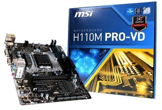 MSI H110M PRO-VD Realtek Audio New