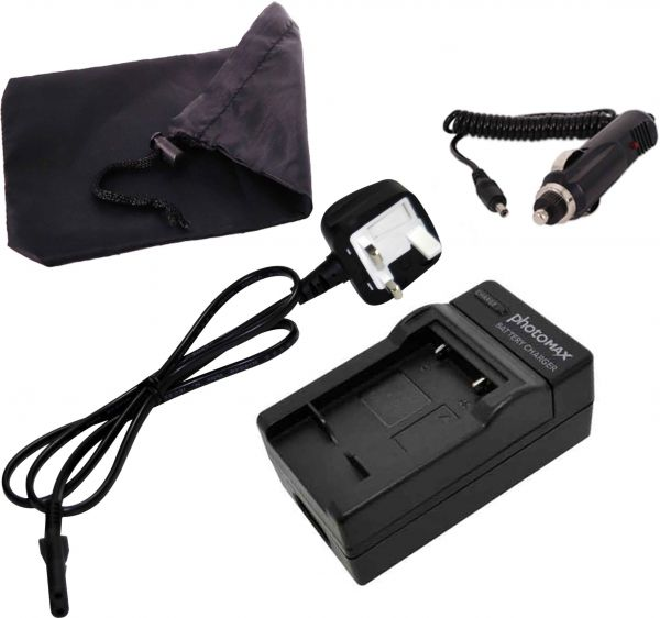 photoMAX For NIKON EN-EL10 Camera Battery Charger with UK Cable   Souq - UAE
