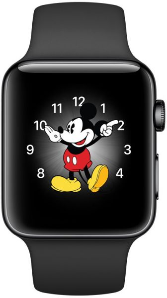 Apple Watch Series 2 42mm Space Black Stainless Steel Case With