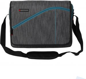 9a74cc2c5598 Promate 15.6-Inch Laptop Messenger Bag with Water Resistance for MacBook  Pro