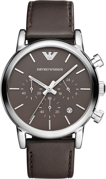 0551d9624c52 Emporio Armani for Men - Casual Leather Band Watch - AR1734
