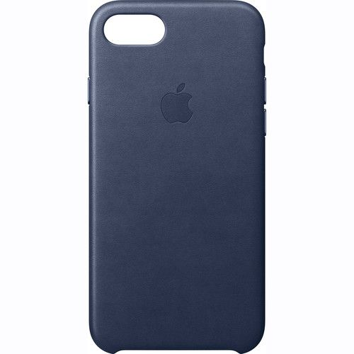 first rate 48649 9d890 Apple iPhone 7 Leather Case - Midnight Blue, MMY32