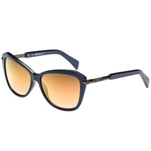 6be66bcd24e8 Just Cavalli Butterfly Blue Women's Sunglasses - JC682S 90G - 57-15-135