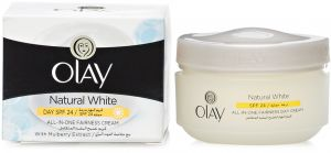 Olay Natural White All-in-One Fairness Cream, 50g