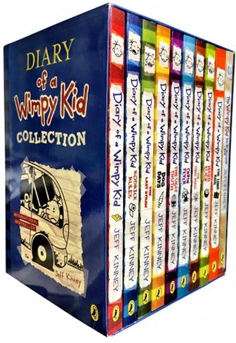 Diary Of A Wimpy Kid Collection  Books Set