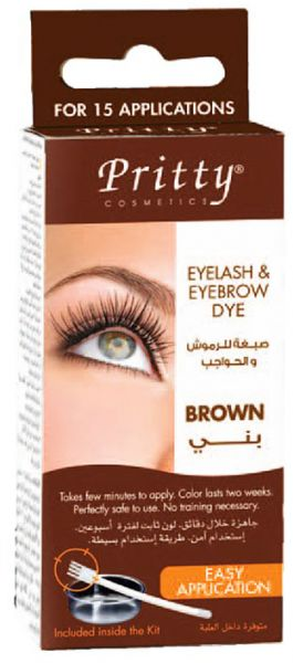 Souq | Pritty Eyelash&Eyebrow Dye Kit Brown | Oman