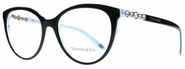 Tiffany and Co Medical Glasses Frame for Women, Size 50, Black ...