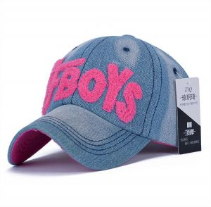 Multi Color Cotton Baseball Hat For Girls 538093bec498