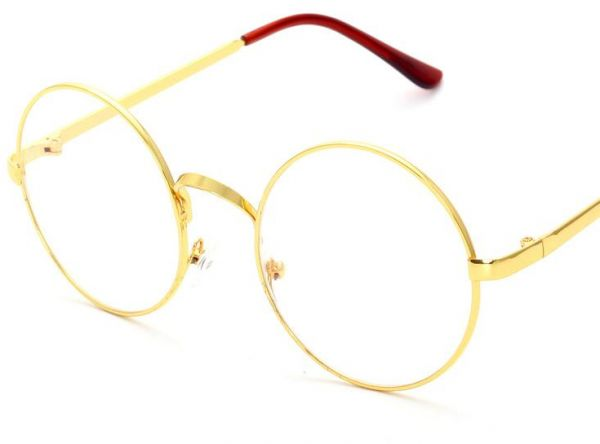 Harry Potter Big Circular Frame With The Whole Metal Retro Flat ...