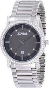1078fc077 Jovial Men's Grey Dial Stainless Steel Band Watch - 5112 GSMQ 03 ZE ...