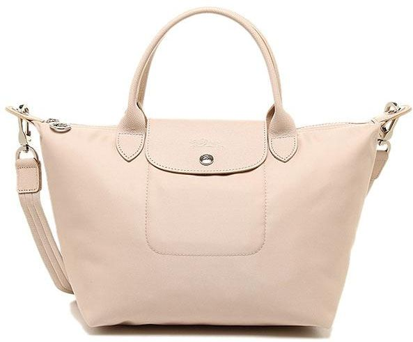 Longchamp Le Pliage Neo Tote Bag Medium ( Beige )   Souq - UAE 143609643b