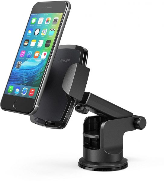 best website bef0f a1dda Anker Dashboard Cell Phone Mount, Windshield Car Mount, Phone Holder for  iPhone 7/7 plus/6/6s/6 Plus/6s Plus, Samsung S6/edge/S7/S7 edge, Note 5, LG  ...