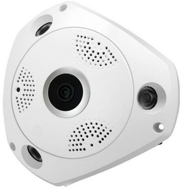Wireless VR cam 3D Panoramic 360 Degree View IP Camera with voice