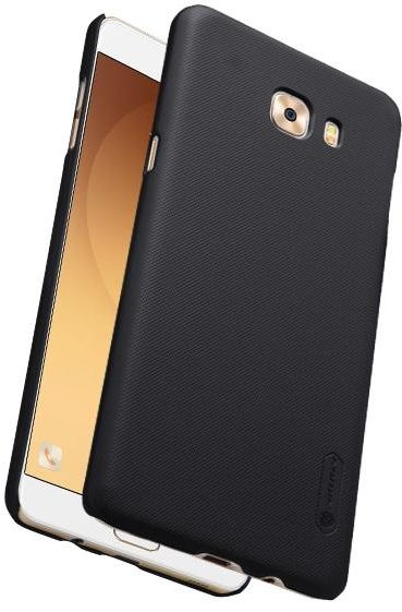 low priced 37c7d 1e781 Samsung Galaxy C9 Pro Nillkin Super Frosted Shield Back Case (Black Color]